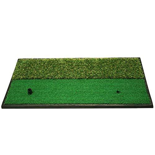 LUSON Pad Golf Practice Mat (Fairway / 2-en-1) - Mini Golf Mat Choisissez De Réaliste Fairway & Lies Semi-rough