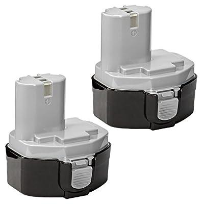ExpertPower® 14.4v 3000mAh NiMh Extended Battery for Makita 1433 1434 1435 1435F 192699-A 193158-3