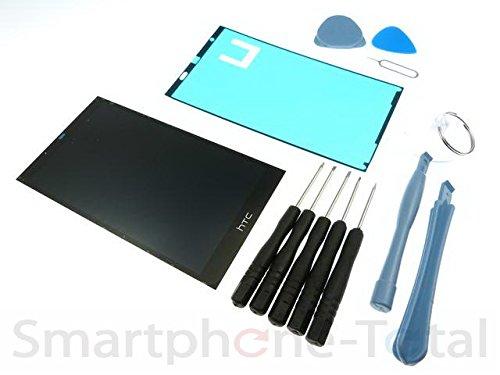 NG-Mobile Reparatur Set Displaymodul LCD Touchscreen Glas Scheibe Kleber Werkzeug für HTC Desire 626G DUAL SIM, schwarz