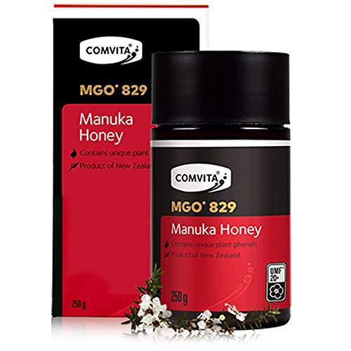 Comvita - Miele di Manuka UMF® 20+ (MGO 829 Methylglyoxal) - 250gr | Manuka honey, Nuova Zelanda, Certificato, reflusso, difese