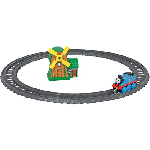 Thomas and Friends GFF09 Track Master Push Along Thomas and the Windmill Metal Train Engine Playset