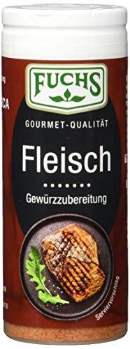 Fuchs Gewürze Fleisch Gewürzzubereitung, 4er Pack (4 x 50 g)