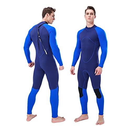 Trajes mojados de buceo Hombre con traje de neopreno 3mm, traje de surf de neopreno, hombres, juventud, traje de trabajo completo para hombres, agua fría, trajes de buceo con cremallera de manga larga