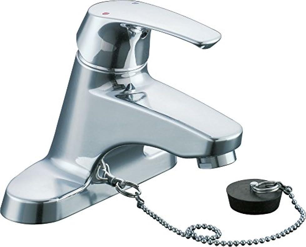 発表する耳ドラッグLIXIL(リクシル) INAX 洗面用 台付  シングルレバー混合水栓 一般水栓 ゴム栓式 LF-B355S