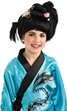 Girls Geisha Wig - Child Std.
