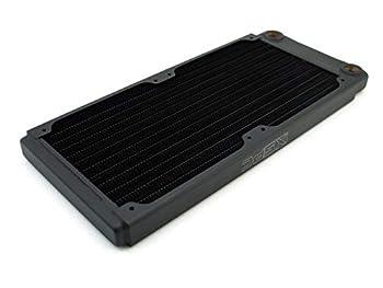 XSPC TX240 Ultra Thin Radiator 120mm x 2 Dual Fan Black