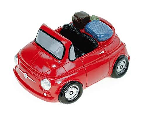 UDO Schmidt Spaarpot Mini met koffer 16 cm reiskas vakantie vakantie spaarvarken