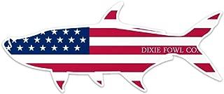Old Glory Tarpon - Dixie Fowl Co Decal - 8