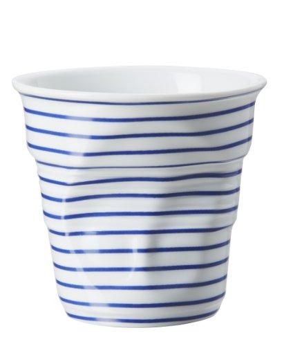 Gobelet 18 cl Revol Froissés Cappuccino Marinière Bleu