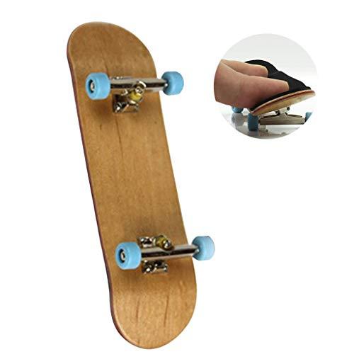 Amycute Patineta de Dedos Profesional para niños, Mini Diapasón Fingerboard Finger Skateboards...