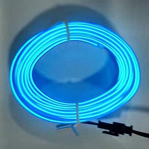 Losenlli 3M Interior Coche Tira luz 12V LED Luces