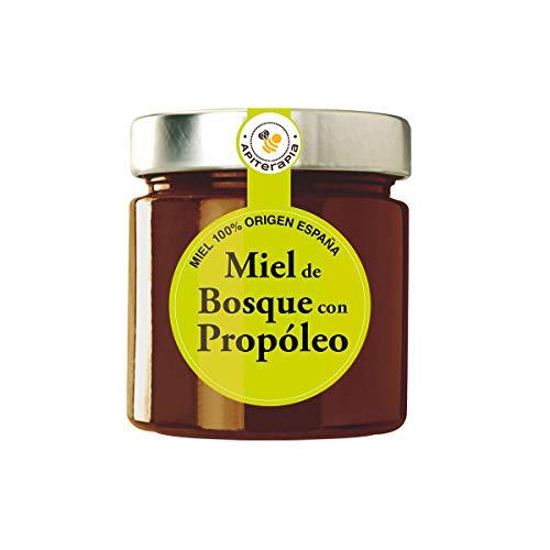 Apiterapia - Miel de Bosque con Propóleo - Miel Origen España - 300 g