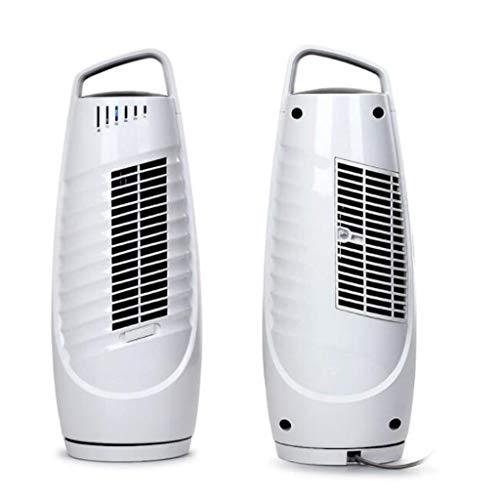 Ventilador De Torre Silencioso Oscilante Blanco con Control Táctil, Temporizador 1-4H, 3 Modos Y Ajustes De Velocidad, Escritorio Portátil Ventiladores De Piso para Dormitorios Salones Oficina