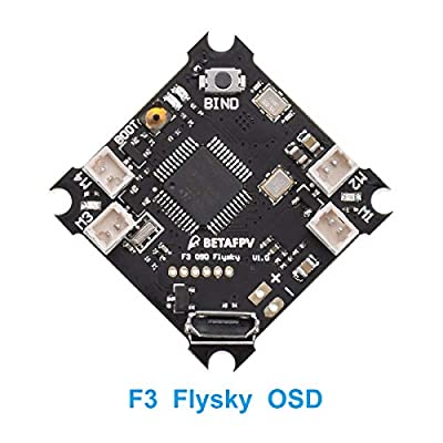 BETAFPV F3 Brushed Flight Controller Flysky SPI Receiver Integrated Betaflight OSD for FPV Micro Racing Drone
