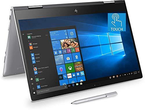 "Premium HP Envy x360 Convertible 2 in 1 Laptop 15.6"" FHD IPS Touchscreen 8th Gen Intel Quad-Core i7-8550U up to 4GHz, 8GB DDR4 360GB PCIe SSD, USB-C WiFi BT 4.2 Backlit Keyboard Pen Win 10 (Renewed)"