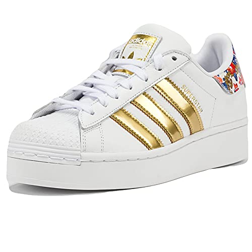 adidas Superstar Bold White Gold Flower FY3653 Blanco Size: 37 1/3 EU