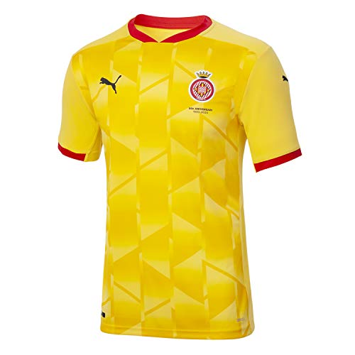 GIRONA FC Segunda Equipación 2020/21 Camiseta, Unisex Adulto, Dandelion, M
