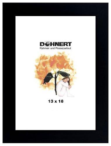 Bilderrahmen von Doehnert Holzrahmen Eastcote 40x60 cm Schwarz - Antireflexglas