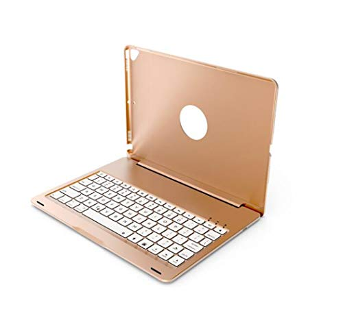 WLWLEO Voor Ipad 10.2(2019) Keyboard Case 7 Kleuren Backlit Keyboard Ultra Dunne Draadloze Bluetooth Keyboard Case Smart Protective Shell voor Ipad 10.2(2019)