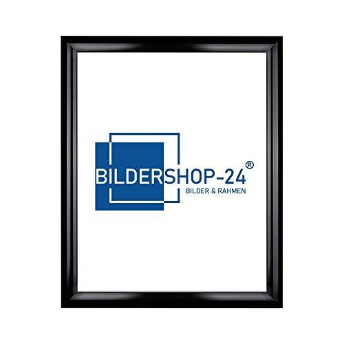 Bildershop-24 Cadre à Puzzle / Photo Valencia 33X98cm Noir (Ultra-Brillant) pour 500-1000 Pièces