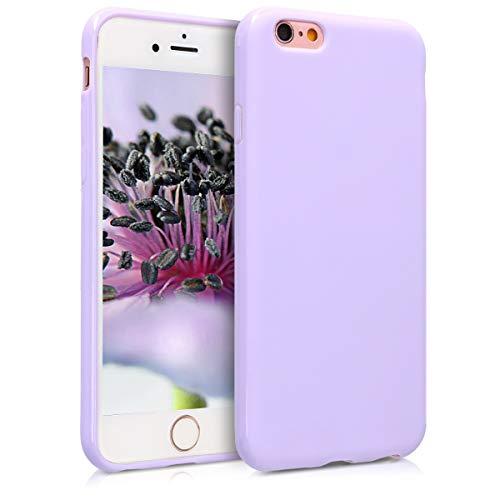 kwmobile Cover Compatibile con Apple iPhone 6 / 6S - Custodia in Silicone TPU - Backcover Protezione Posteriore- Lavanda