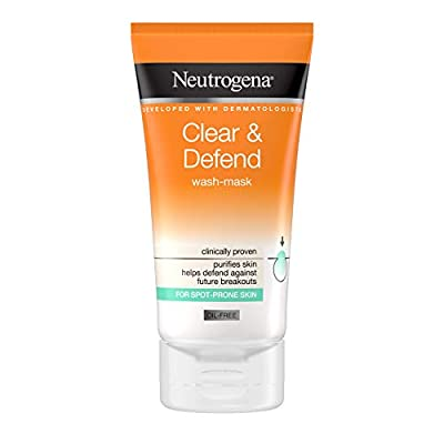 Neutrogena Clear & Defend Wash-Mask, 150 ml from Johnson & Johnson Limited