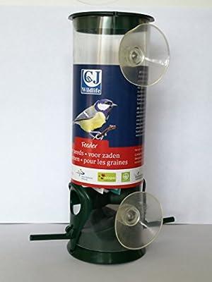 Window Seed Feeder for Birds