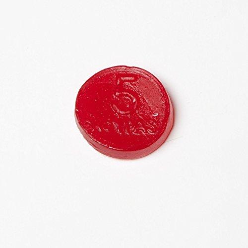 Roypas Monedas de Regaliz Rojo Sabor Fresa - 200 unidades