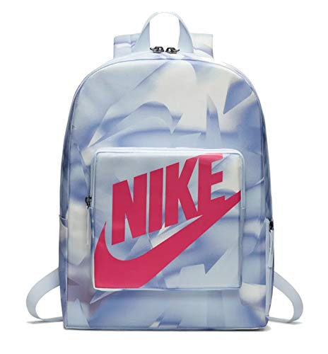 Nike Kids' Y NK CLASSIC BKPK - AOP SP20 Sports Backpack, Football Grey/Football Grey/(Watermelon), MISC