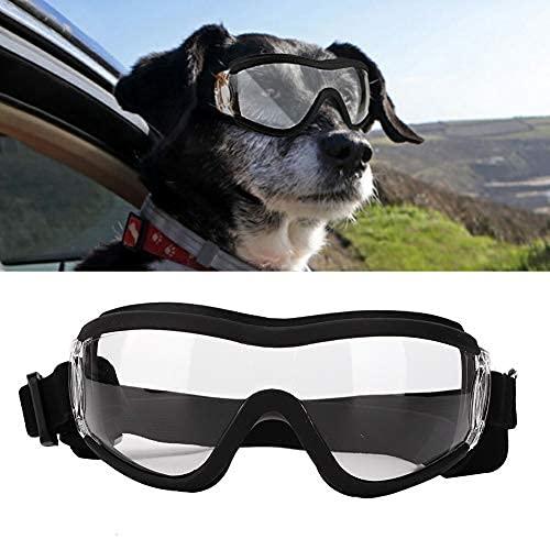 Dog Goggles, Anti- Eye Protection Puppy Sunglasses Waterproof Windproof Anti-Fog...