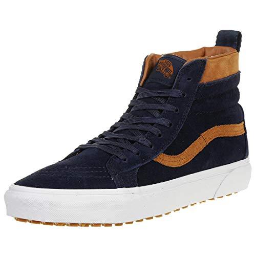 Vans Classic SK8-HI MTE Winter Sneaker Schuhe Leder VN0A33TXUCB Blau, Schuhgröße:37 EU