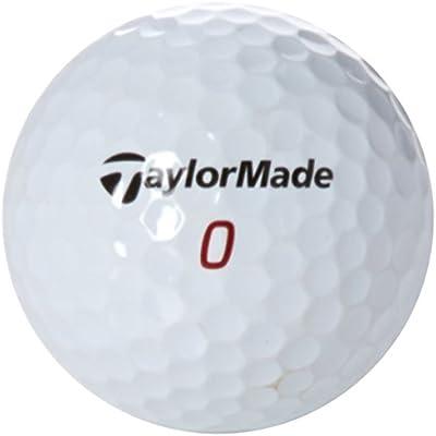 Tour 2 Recycled LBT2TATPR12 - Bolas de golf, color Negro, talla única, pack de 12
