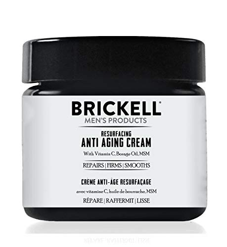 418aGyWw0rL - Brickell Men's Products Resurfacing Anti-Aging Cream For Men, Natural and Organic Vitamin C Cream, 2 Ounce, Scented