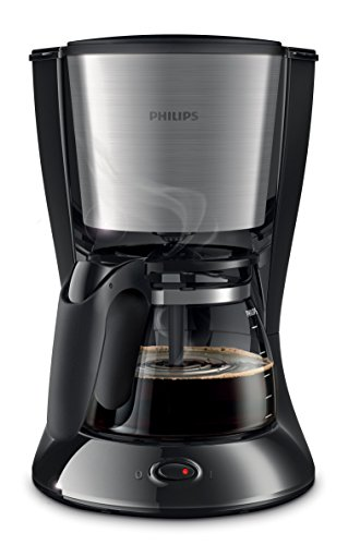 Philips HD7462/21 Daily Filter-Kaffeemaschine (1000 Watt) schwarz