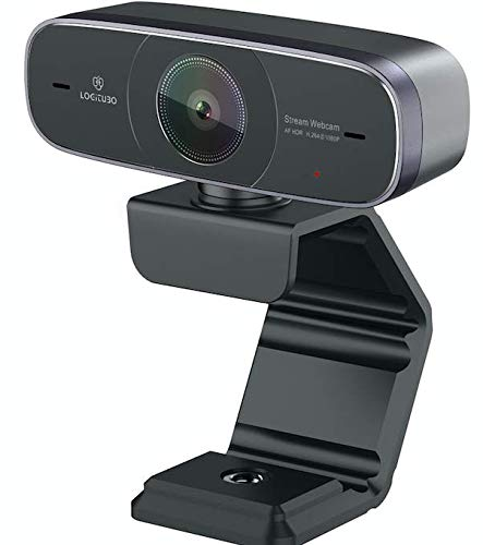 LOGITUBO Mac Webcam, HD 1080P Webcam with Microphone for Streaming, 925A HDR USB Computer Web Camera Pro Video Cam for Mac PC Windows Skype OBS Twitch YouTube Xsplit Xbox One -Tripod Included