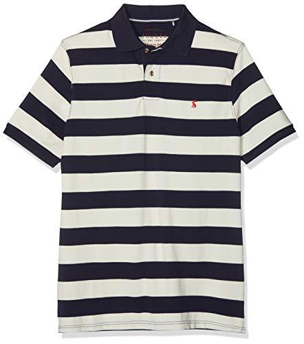 Joules Herren Filbert Poloshirt, Blau (Navy Cream Stripe Nvycrmstrp), Small
