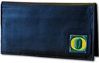 NCAA Oregon Ducks Deluxe Leather Checkbook Cover