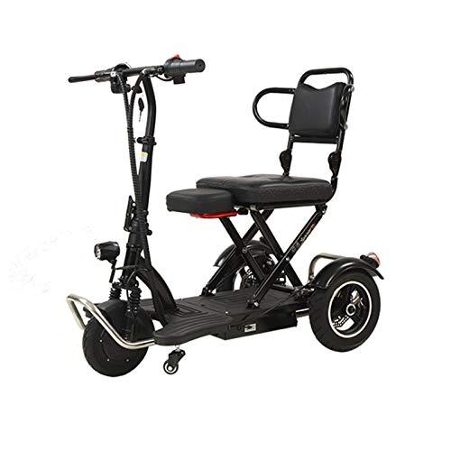 Bicicleta eléctrica plegable de 3 ruedas, bicicleta eléctrica para adultos, bicicleta de...