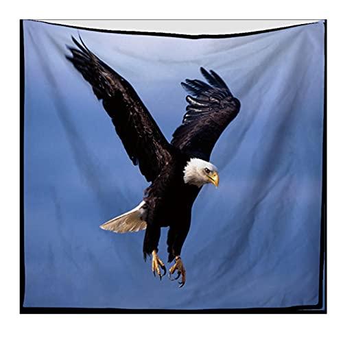 Tapiz Colgante De Pared Dormitorio Sala De Estar Decoración De Pared Tapices Estera De Yoga Toalla De Playa Manta Mantel 150X200Cm Águila Voladora