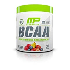 BCAA 3:1:2 PATENT-PENDING RATIO: MusclePharm BCAA Powder offers a unique patent-pending amino acid blend—3 leucine, 1 isoleucine, 2 valine—that delivers the ideal amounts of these three proteins through the body SUPPORTS LEAN MUSCLE MASS: MP Essentia...