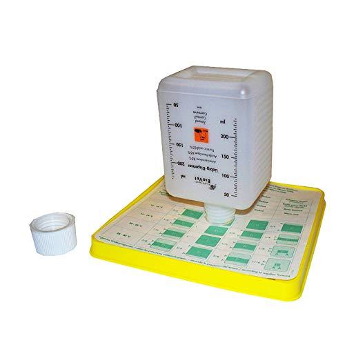 Liebig-Dispenser gegen Varroa, Apisfarm