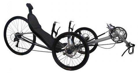 Performer JC-70 30 Speed Recumbent Trike (Black)