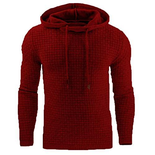 Otoño de los hombres sudadera con capucha suéter de otoño de los hombres con capucha