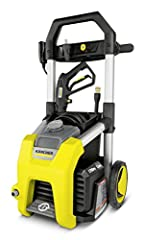 1700 psi, 1.2 GPM electric pressure washer with convenient on/off foot switch Includes three nozzles: turbo nozzle for maximum cleaning power on stubborn areas, 15° all-purpose nozzle and detergent nozzle Large removable Bin for hassle-free storage o...