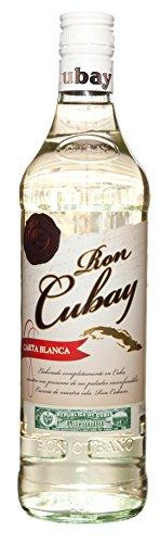 Ron Cubay Carta Blanca 38% - 700 ml