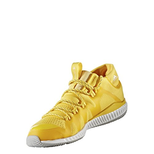Adidas Stella Mccartney Crazytrain Bounce Mid Running Trainers Sneakers (UK 6 US 7.5 EU 39 1/3, Yellow White BB4899)