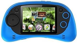 "IQ Toys Handheld Portable Digital Screen 200 Preloaded Games , 2.7"" Color Display Blue"