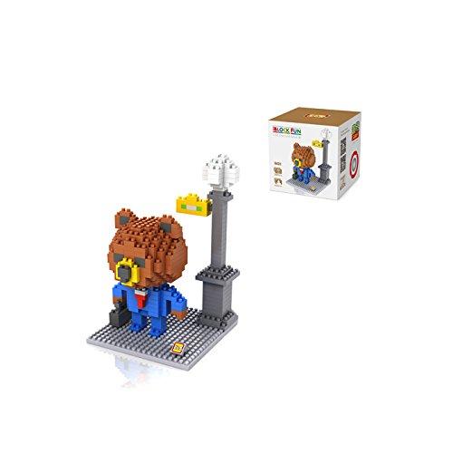 iBlock Fun- Bloques construcción miniatura LOZ (Novatech 9431) , color/modelo surtido