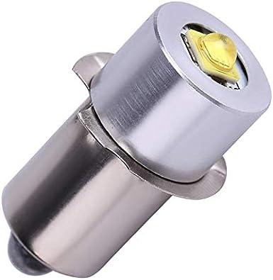 Bombilla LED P13.5S 5W 6-24V Linterna Bombilla de Repuesto Lámpara de Antorcha Luz de Trabajo de Emergencia Antorchas Lámpara LED Lámpara de Trabajo de Alto Brillo