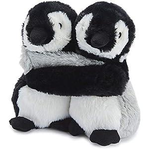 パドルビー Warmies(R) 電子レンジ であったか 湯たんぽ HUG ふわふわ かわいい アニマル ぬいぐるみ Doll ウォーマー ペンギン (キビとラベンダーの お湯を使わない 安心 湯たんぽ) HUG-PEN-1
